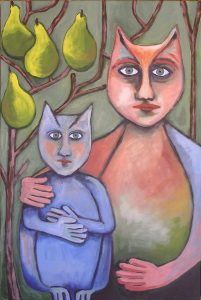 Artwork: Mother and Daughter- Leora Sibony
